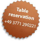 Eye-Catcher: Table reservation